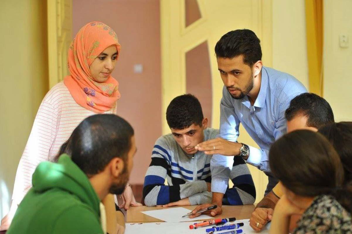 طلاب في فصل دراسي