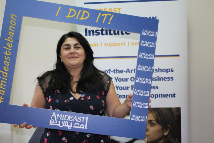 A graduate of one of AEI's many workshops