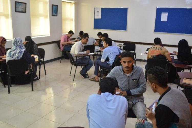 EASP students improve their language skills through group activities.