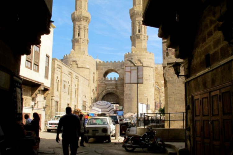 American students will be able to explore Cairo's many historical and religious sites, such as the Sultan Hassan mosque.