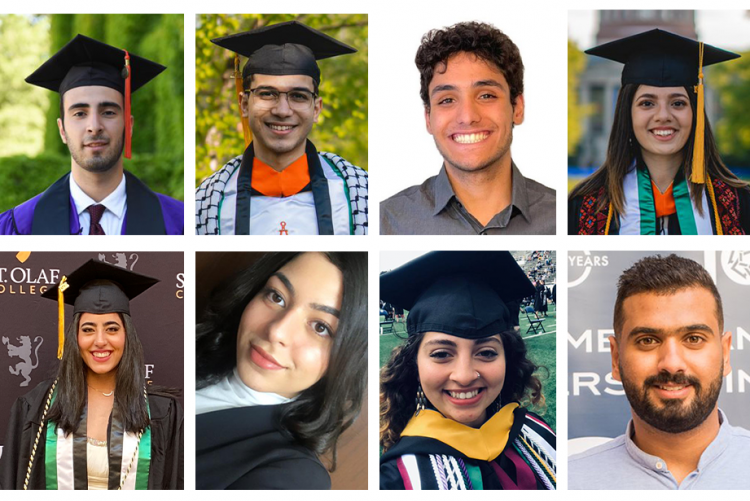 Collage of the eight Hope Fund graduates