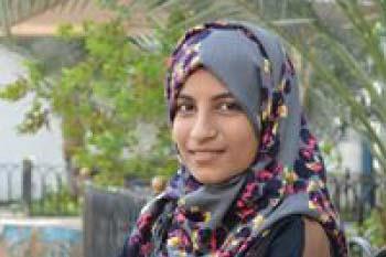 The newest Yemeni Diana Kamal Scholarship Search Fund recipient