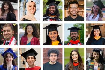 Collage of the 2021 DKSSF graduates