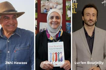 Three alumni of the Fulbright Foreign Student Program