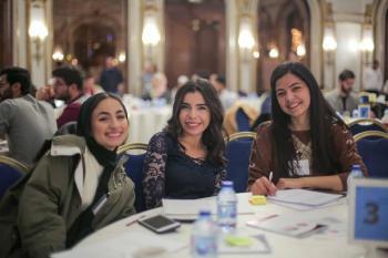 YES alumni attend an innovation workshop in Jordan