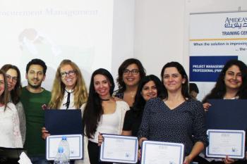 Lebanon PMP graduates May 2018