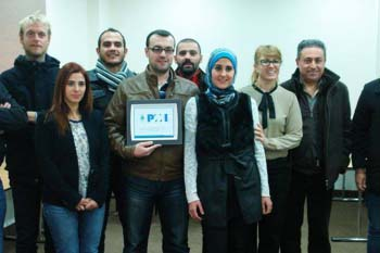 طلاب حاصلون على شهادة PMP في لبنان