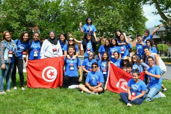 Tunisian YES students
