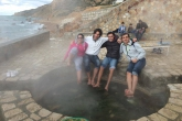 Enjoying the thermal springs of Korbous in Tunisia