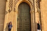 Fall 2018 students visit the Hassan II Mosque in Casablanca