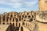 Roman Amphitheater of El Jem, Tunisia