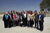 Students gathered in Amman, Jordan